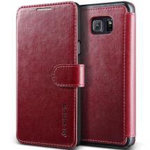 VERUSVerus Dandy Layered Plånboksfodral till Samsung Note 5 - Röd