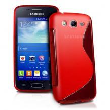 OEMFlexiCase Skal till Samsung Galaxy Core Advance - (Röd)