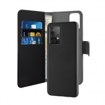 PuroPuro - Detachable Plånboksfodral Samsung Galaxy A52 5G - Svart