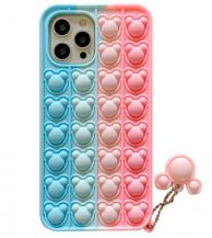 Fidget ToysPanda Pop it Fidget Multicolor Skal till iPhone 11 - Rosa