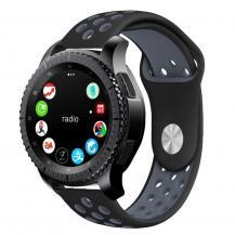 Tech-ProtectTech-Protect Softband Samsung Galaxy Watch 46Mm Svart / Grå