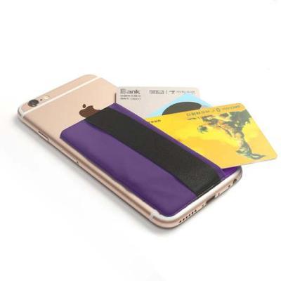 Kreditkortshållare för smartphones - Lila