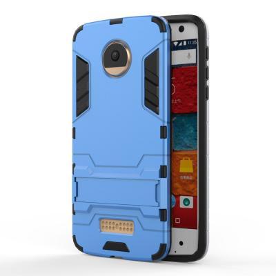 Hybrid Mobilskal Motorola Moto Z - Blå