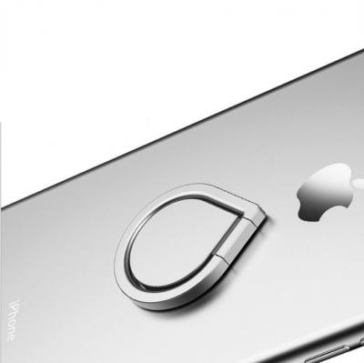 Water Drop Ringhållare till Mobiltelefon - Silver