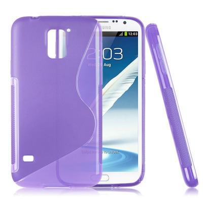 FlexiSkal till Samsung Galaxy S5 i9600 (Lila)