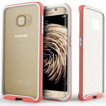 CaseologyCaseology Waterfall Series BaksideSkal till Samsung Galaxy S6 Edge - Rosa