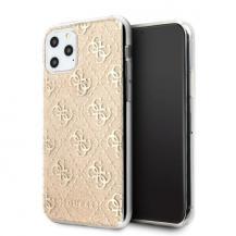 GuessGuess iPhone 11 Pro Max skal 4G Glitter guld