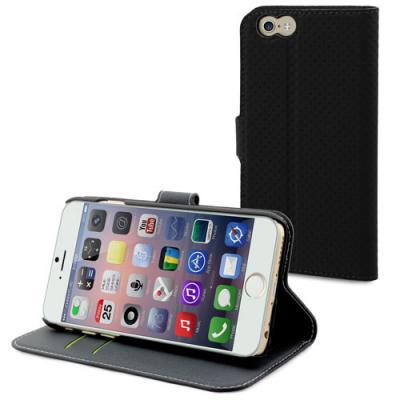 Muvit Wallet Apple iPhone 6(S) Plus - Svart