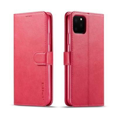 LC.imeeke Plånboksfodral för iPhone 11 Pro - Röd