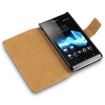 CovertSlim mobilväska till Sony Xperia J (Svart)