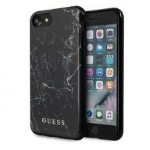 GuessGuess Skal iPhone 7/8 Svart Marble