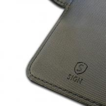 SiGNSiGN Plånboksfodral 2-in-1 för iPhone 6/6S/7/8 Plus - Svart