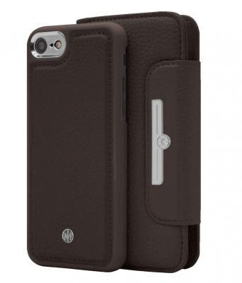 Marvêlle N°303 Plånboksfodral till iPhone 6/7/8/SE 2020 - Dark Brun