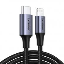UgreenUGreen MFI USB Type C lightning Kabel 3 A 480 Mbps 1 m Grön