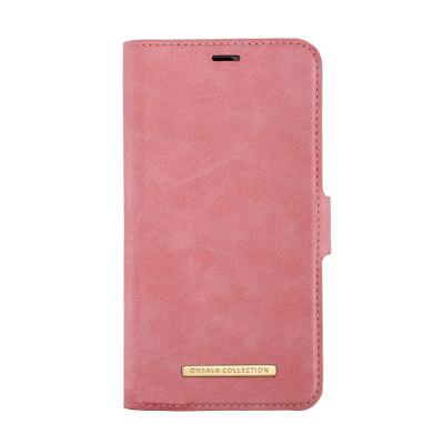 Onsala Collection Plånboksväska Saffiano för iPhone 11 - Rosa