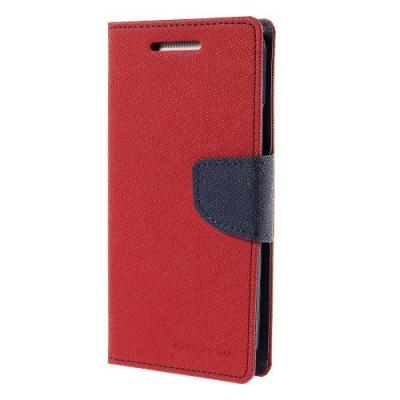 Mercury Fancy Plånboksfodral till HTC One M9 - Röd
