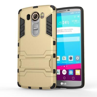 Kick-Stand Skal till LG V10 - Gold