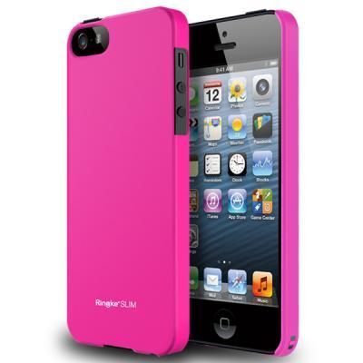 Ringke Slim till Apple iPhone 5/5S/SE (Rosa)