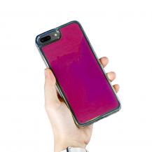A-One BrandLiquid Neon Sand skal till iPhone 7/8 Plus - Violet