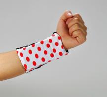 A-One BrandPCMAMA Wrist band till mobil -XL - (Polka dot Rosa)