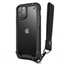 VERUSVRS DESIGN | Crystal Mixx Pro Skal iPhone 12 & 12 Pro - Svart
