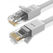 UGrönUGreen Ethernet Kabel RJ45 Cat 6 UTP 1000Mbps 5 m Vit