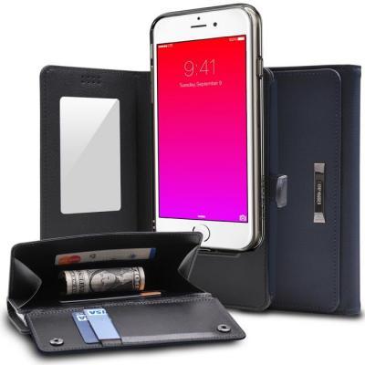 Ringke Wallet till iPhone 6 / 6S - Navy