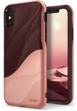 RearthRingke Wave Skal till Apple iPhone XS / X - Rose Blush