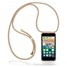 CoveredGear-NecklaceCoveredGear halsbandsskal iPhone 7 Plus & iPhone 8 Plus - Beige Cord