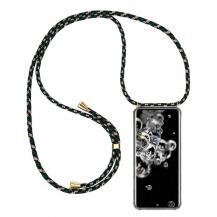 CoveredGear-NecklaceCoveredGear Necklace Case Samsung Galaxy S20 Ultra - Green Camo Cord