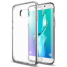SpigenSPIGEN Neo Hybrid Crystal Skal till Samsung Galaxy S6 Edge Plus - Satin Silver