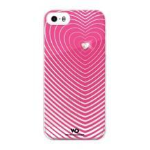 White DiamondsWhite Diamonds Heartbeat skal till Apple iPhone 5/5S/SE- Rosa