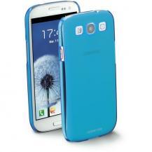 CellularLineCellularLine Cool fluo skal Samsung Galaxy S3 (Blå) + Skärmskydd