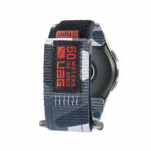 UAGUAG Samsung Galaxy Watch Active Strap 46mm - Midnight Camo
