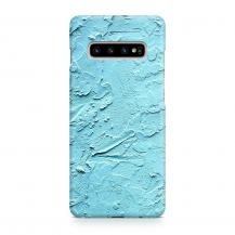 TheMobileStore Slim CasesDesigner Skal till Samsung Galaxy S10 - Pat2209