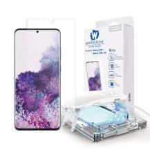 WhitestoneWhitestone Härdat Glas Dome Glass Galaxy S20 Plus Clear