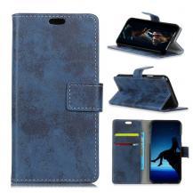 A-One BrandVintage Plånboksfodral till Samsung Galaxy S10 Plus - Blå