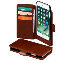 SiGNSiGN Plånboksfodral 2-in-1 för iPhone 6/6S/7/8 Plus - Brun