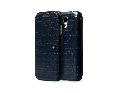 Zenus Masstige Lettering Diary till Samsung Galaxy S4 i9500 (Navy Blue)