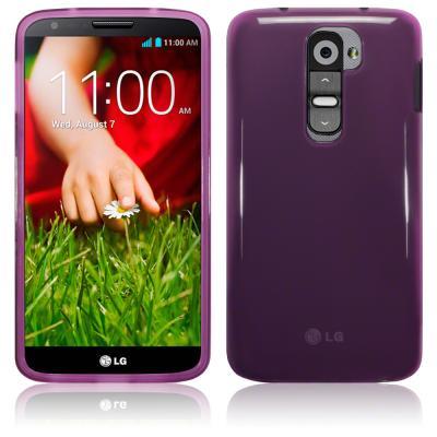 FlexiCase Skal till LG G2 (Lila)