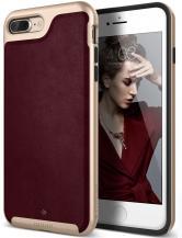 CaseologyCaseology Envoy Äkta Läder Skal iPhone 7 Plus - Cherry