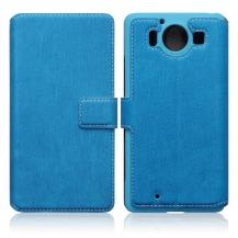 TerrapinSlimmat Plånboksfodral till Microsoft Lumia 950 - Blå