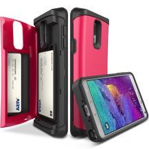 VERUSVerus Damda Veil skal med spegel till Samsung Galaxy Note 4 - Magenta