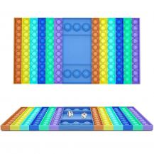 Fidget ToysFidget Pop it Brädspel - Sensory Toy för Vuxna & Barn - Flerfärgad