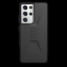 UAGUAG Samsung Galaxy S21 Ultra Civil-Fodral Svart