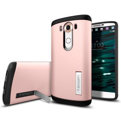 SPIGEN Slim Armor Skal till LG V10 - Rose Gold
