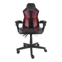 Deltaco GamingGamingstol, RGB belysning, PU-läder, 39 olika lägen, svart