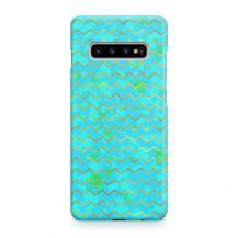 TheMobileStore Slim CasesDesigner Skal till Samsung Galaxy S10 - Pat2054