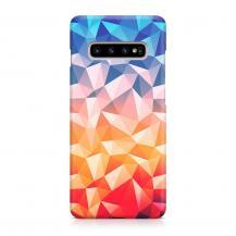 TheMobileStore Slim CasesDesigner Skal till Samsung Galaxy S10 - Pat2273