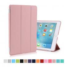 TaltechTri-Fold Cover till iPad Pro 9.7 tum med hårt skal. Rosa